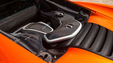 McLaren 650S twin-turbo engine