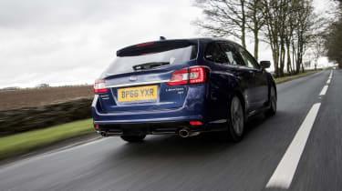 Subaru Levorg tracking