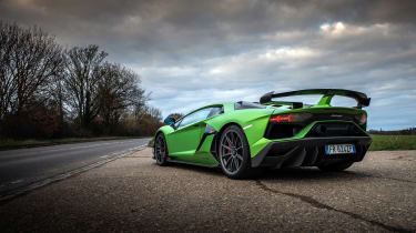 Lamborghini Aventador SVJevo – rear quarter