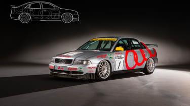 Audi A4 Super Tourer - front