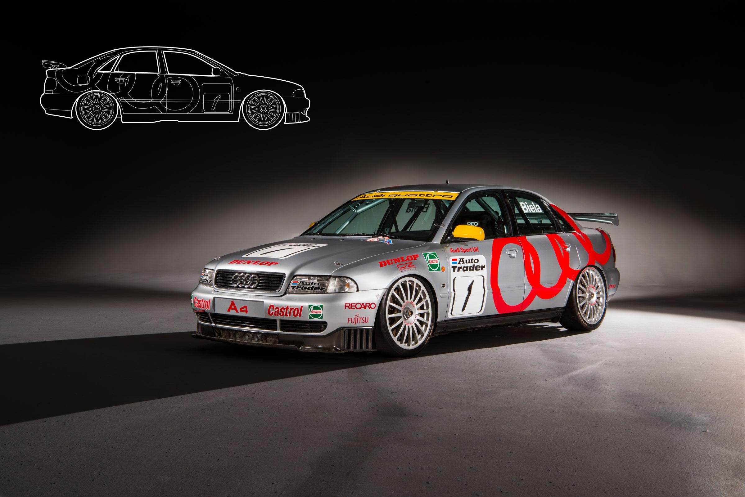 Welches BHP sind BTCC-Autos?