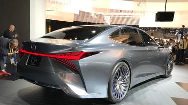 Lexus LS+ Concept – rear quarter