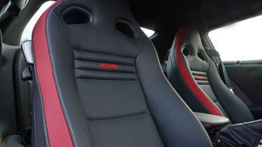 2013 Nissan GT-R Recaro leather sports seat
