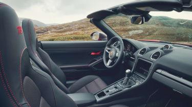 Porsche Boxster T interior
