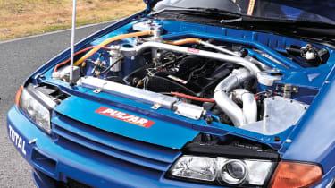 Calsonic R32 Nissan Skyline GT-R engine