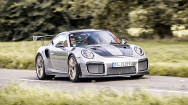 Porsche 911 GT2 RS - driving
