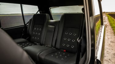 Bishops Heritage Range Rover – back seats