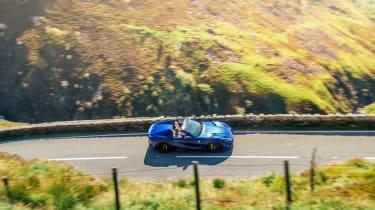 Ferrari 812 GTS TDF blue - top
