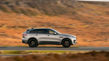 Jaguar F Pace 2021 review - P400 profile