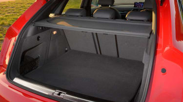 Audi RS Q3 boot space load bay