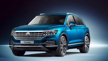 Volkswagen Touareg - front quarter