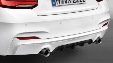 BMW M240i M Performance - diffuser