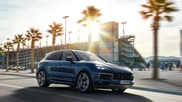 Porsche Cayenne – front quarter