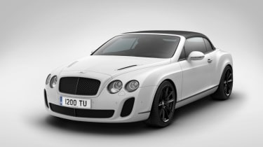 Geneva 2011: Bentley Continental GT SS ISR