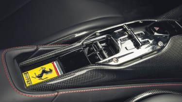 Best hybrid cars 2021 - SF90 gear selector