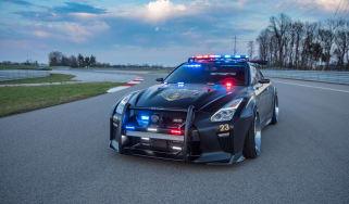 Nissan GT-R Police Pursuit #23 'Copzilla' - Front