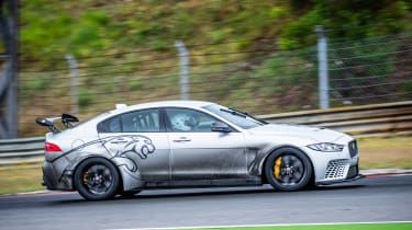 Jaguar XE SV Project 8 - side