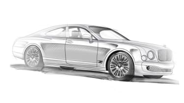 Ares Bentley Mulsanne Coupe – sketch