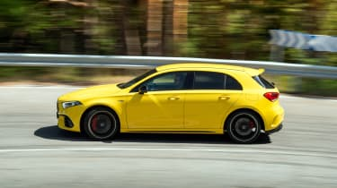 Mercedes-AMG A45 S - side