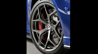 Vauxhall VXR8 GTS-R blue - UK car forged wheel