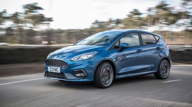 2018 Ford Fiesta ST –side