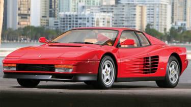 Ferrari Testarossa – front quarter