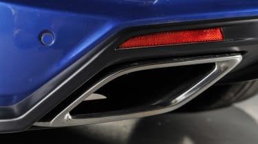 Vauxhall VXR8 GTS-R blue - UK car pipe