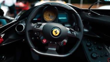 Ferrari Monza SP2 Goodwood FoS steering wheel