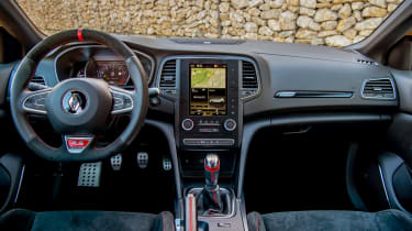 Renault Megane RS300 interior