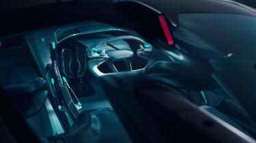 Jaguar Vision Gran Turismo SV Concept - interior 2
