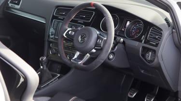 Golf GTI Clubsport S interior
