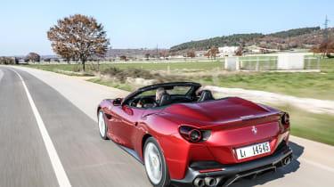 Ferrari Portofino - rear quarter
