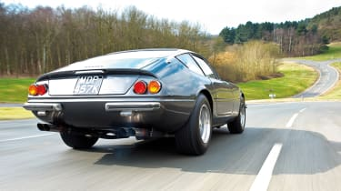 Ferrari 365 GTB/4 Daytona rear quarter