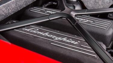 Lamborghini Huracan LP 580-2 engine bay