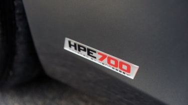 Hennessey McLaren 12C HPE700 plaque