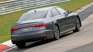 Audi S8 prototype - rear quarter