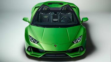 Lamborghini Huracan Evo Spyder - nose