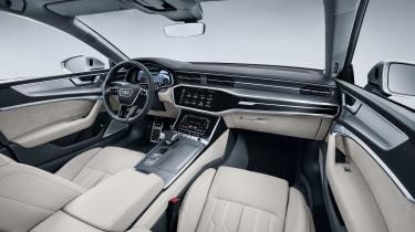 2018 Audi A7 Sportback press - dash