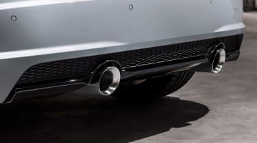 Audi TT facelift - exhaust