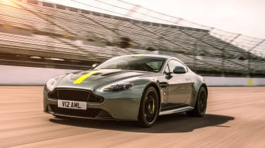 Aston Martin AMR Vantage - V12 driving