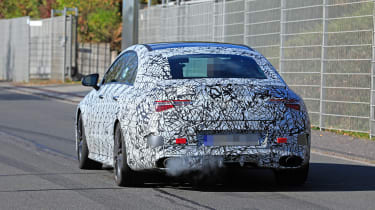 Mercedes-AMG CLA35 rear