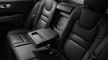 Volvo V60 press - rear seats