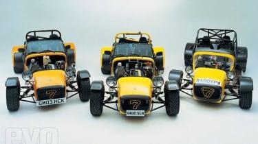 Caterham R300, R400 & R500