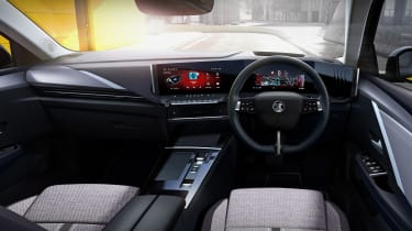 All-new Vauxhall Astra – dash