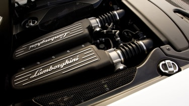 Lamborghini Gallardo LP560-4engine