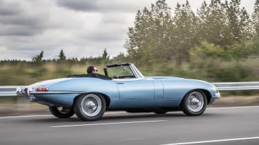 Jaguar E-type Zero side