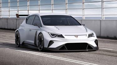 Cupra e-Racer - front
