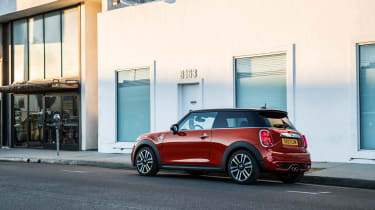 Mini Cooper facelift - rear quarter static