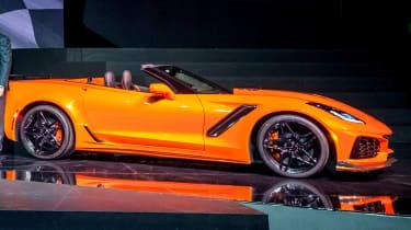 Chevrolet Corvette ZR1 convertible – side