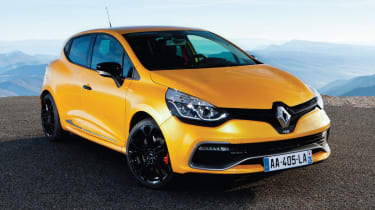 Renaultsport Clio 200 Turbo front Liquid Yellow